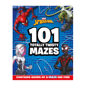Marvel Spider-Man: 101 Totally Twisty Mazes