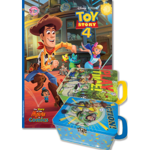 TOY STORY 4 The Story of the Movie in Comics + Tin Box (คละลาย)