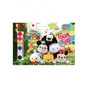 TSUM TSUM Giant Book #Loveit + สีน้ำ