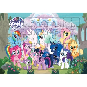 จิ๊กซอว์ MY LITTLE PONY - Crystal Treehouse